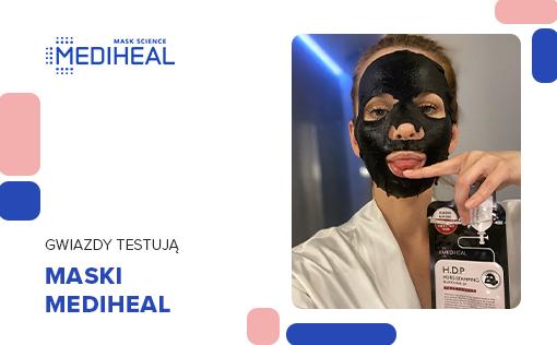 Paulina Sykut-Jeżyna testuje maski Mediheal