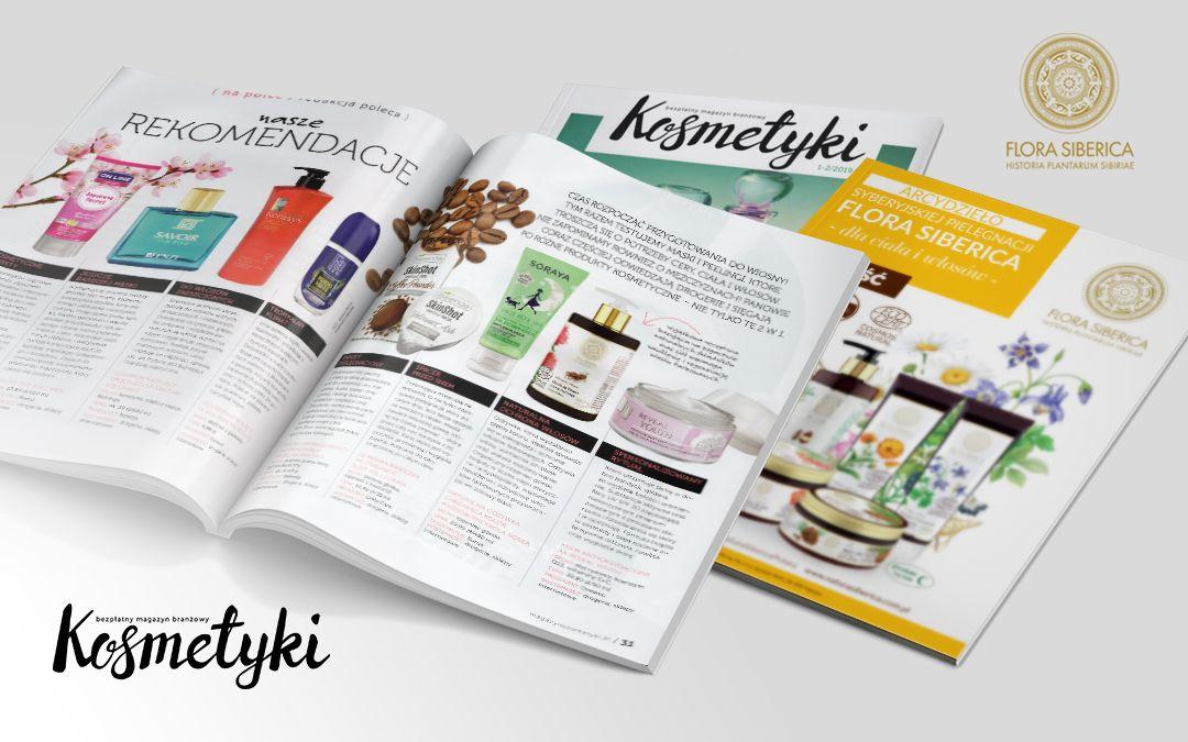 "FLORA SIBERICA in ""Kosmetyki"" magazine"