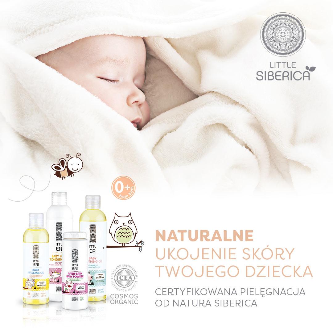 Certyfikowana linia kosmetykow organicznych Little Siberica