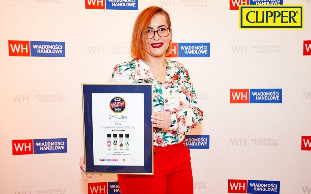 Clipper zdobywa brązowy medal wśród Konsumentów – Najlepszy Produkt 2020