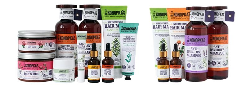 Dr. Konopka's produkty Eurus