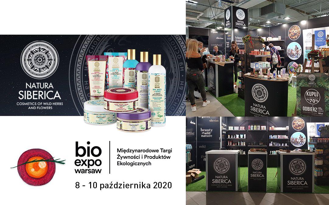 Natura Siberica na targach Bio Expo Warsaw 2020