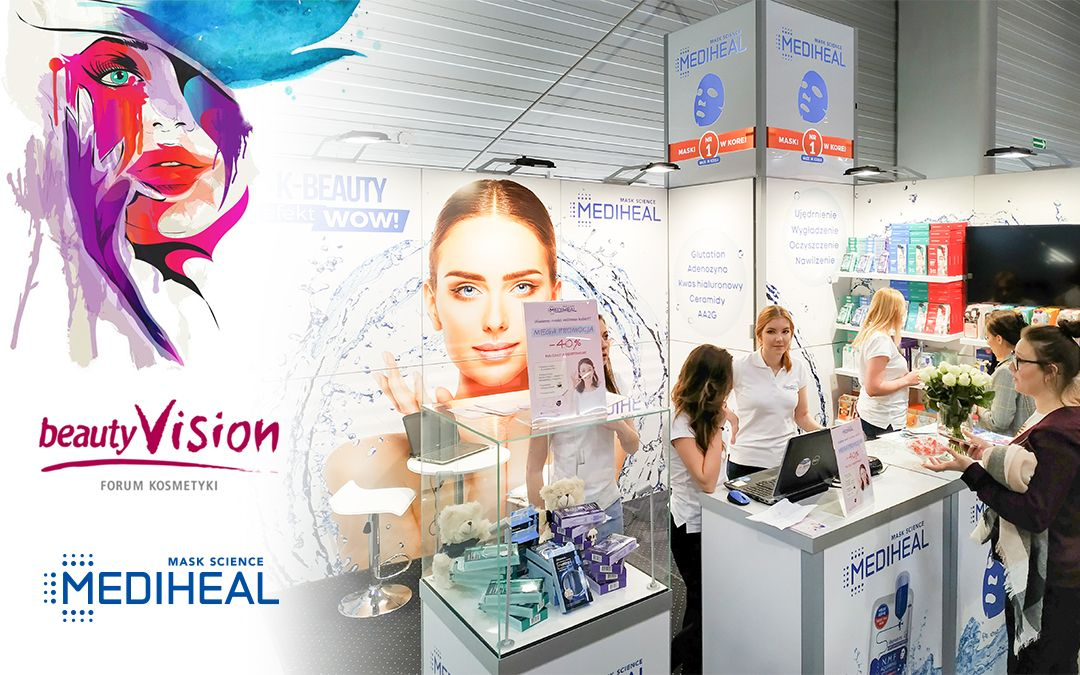 Mediheal on BeautyVISION and LOOK trade fairs in Poznań