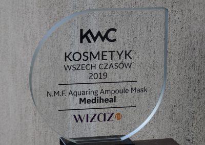KWC kosmetyk wszech czasow dla Mediheal statuetka
