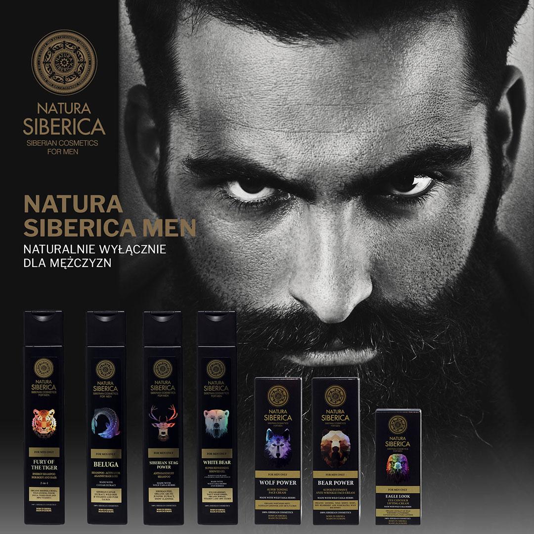 Kosmetyki wylacznie dla mezczyzn Natura Siberica Men