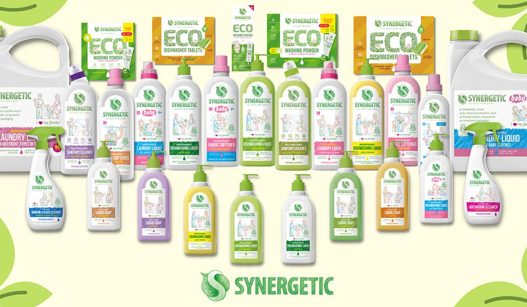 Synergetic – A New Brand Of Ecological Cleaning Products In The Eurus Portfolio