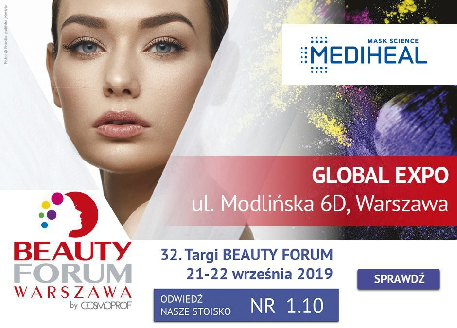 Mediheal na jesiennej edycji Targów Beauty Forum 2019