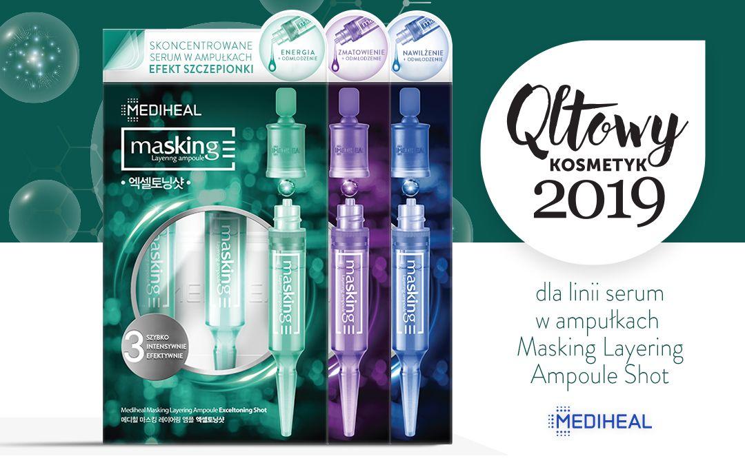 Qltowy Kosmetyk 2019 dla linii Masking Layering Ampoule Shot Mediheal