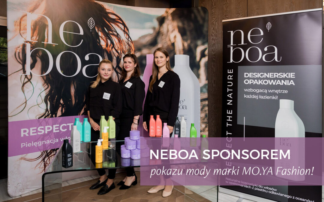 """Neboa became one of the main sponsors of the first Polish show of the """"Sleepwalking"""" collection of MO.YA"""