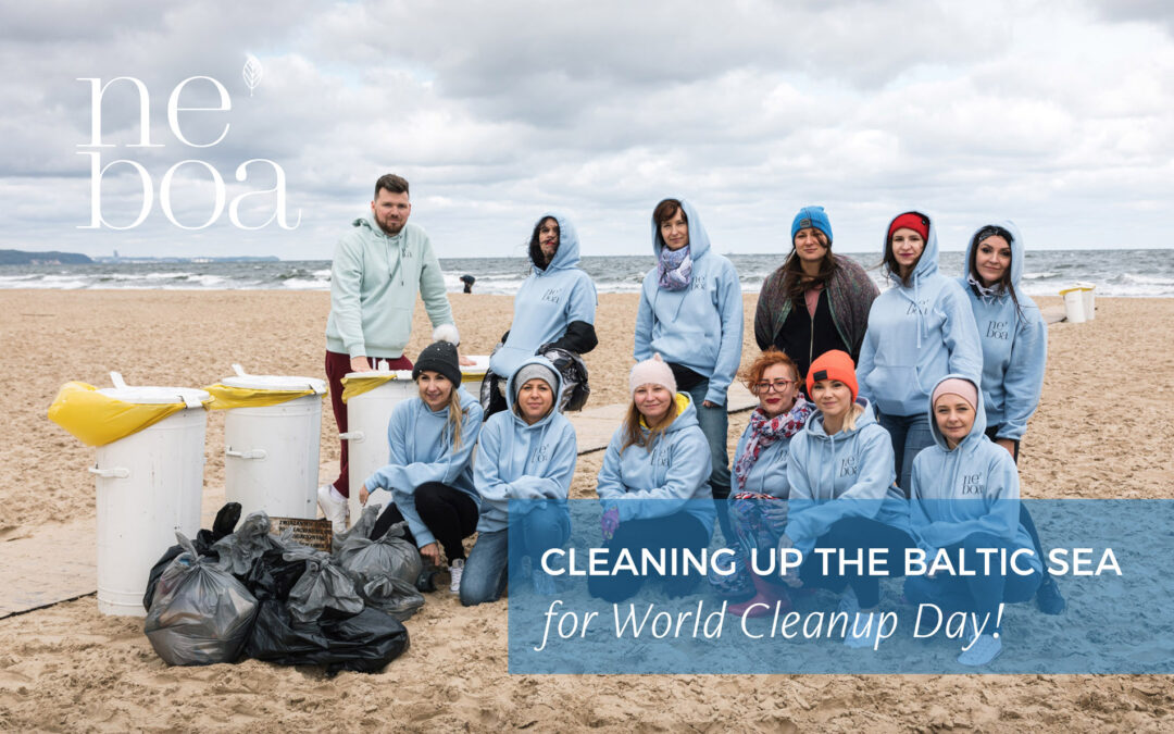 """Neboa brand joined the """"Clean up the Baltic"""" event"""