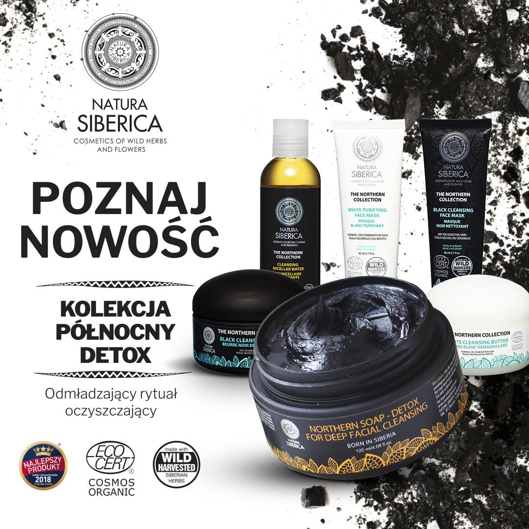 Nowosc Natura Siberica kolekcja Polnocny Detox
