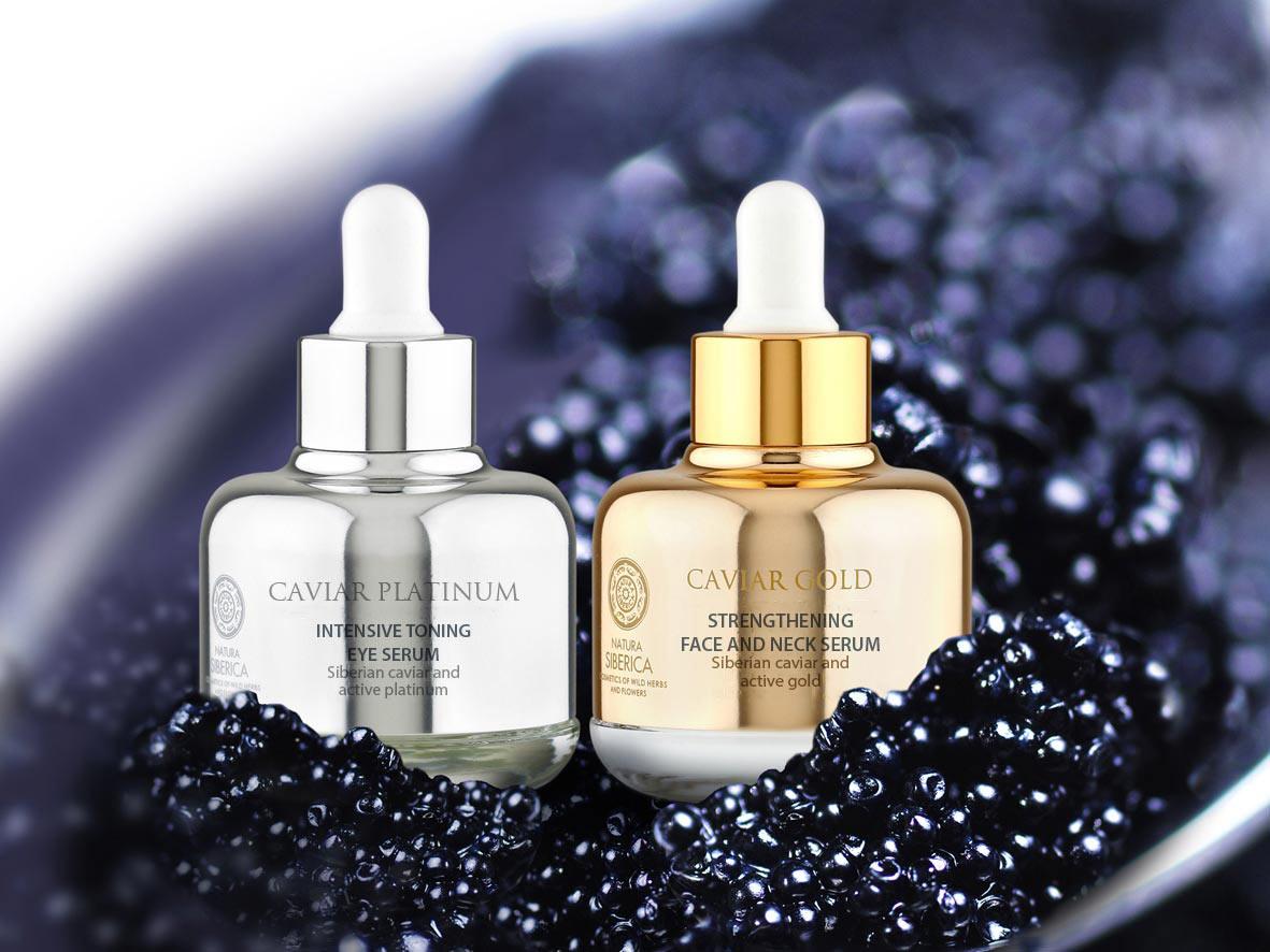 Pielegnacja twarzy kosmetykami premium Caviar