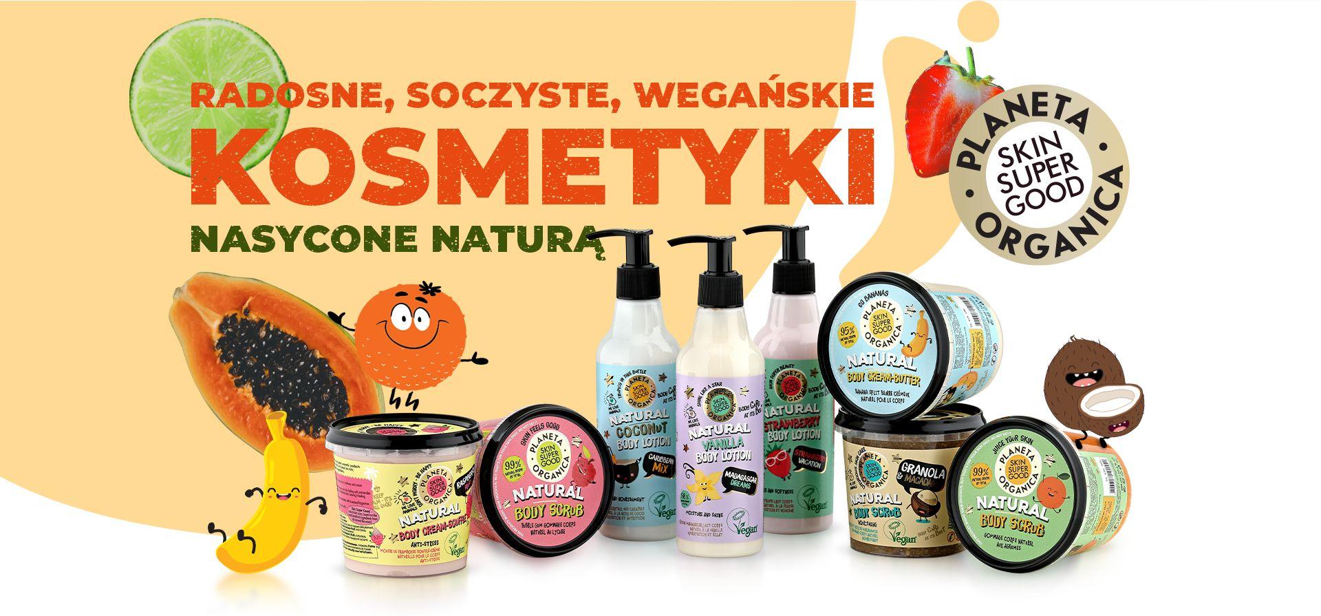 Skin Super Good – Radosne, Soczyste, Wegańskie kosmetyki