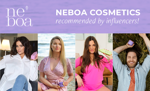 Neboa cosmetics recommended by influencers!
