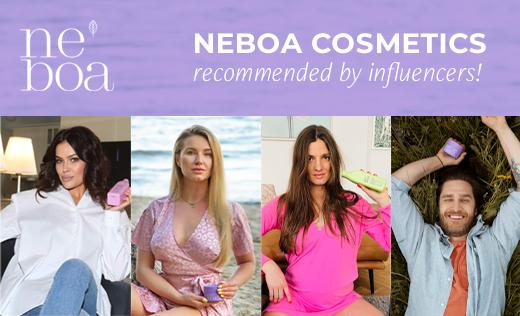 Kosmetyki Neboa polecane przez influencerów!