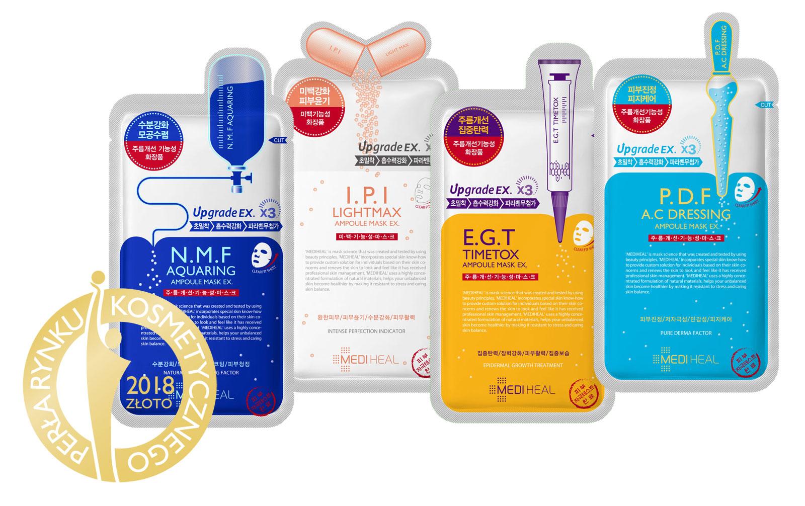 Nagroda Złoto Perły rynku kosmetycznego dla Mediheal