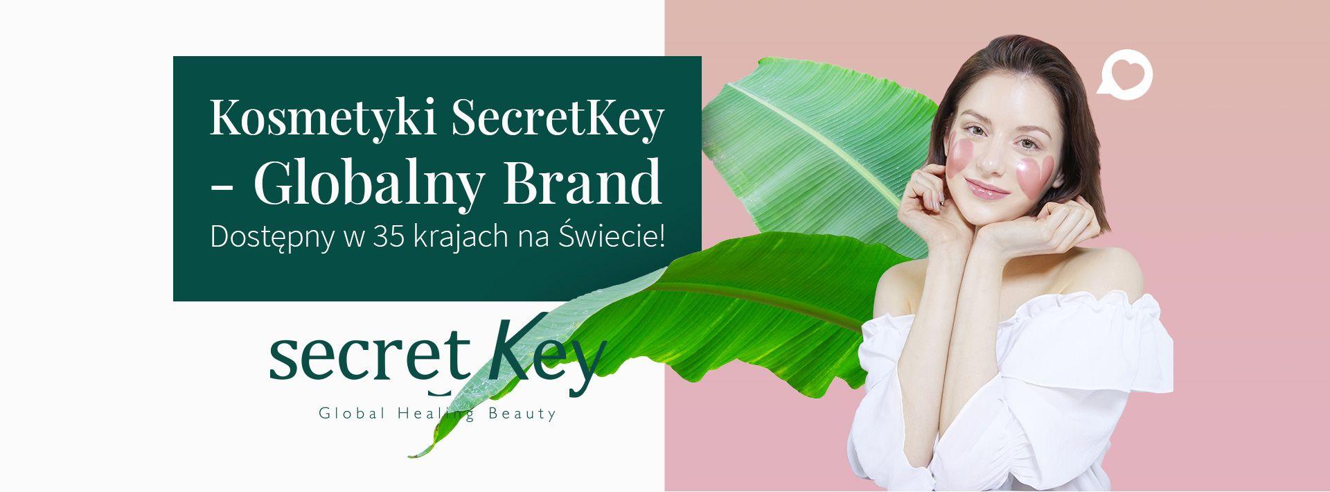 Kosmetyki SecretKey - Globalny Brand